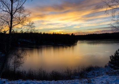 Vinter i Tiveden